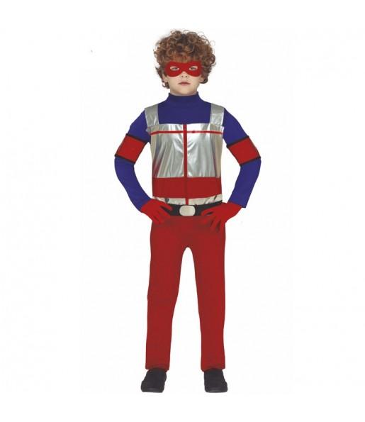 Fato super-herói Henry Danger para crianças