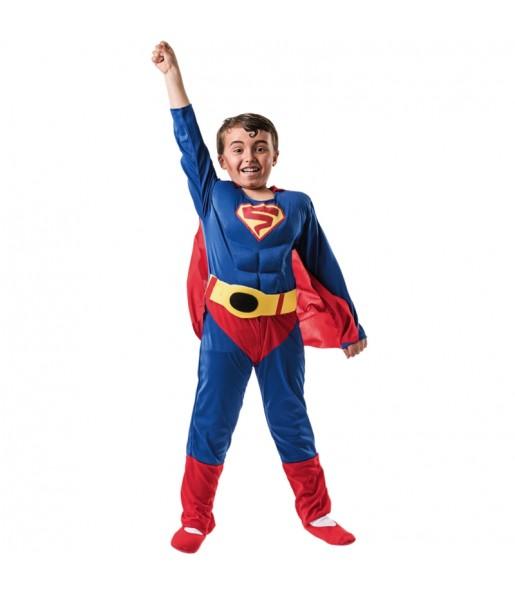 Disfarce Super Herói Clássico menino para deixar voar a sua imaginação
