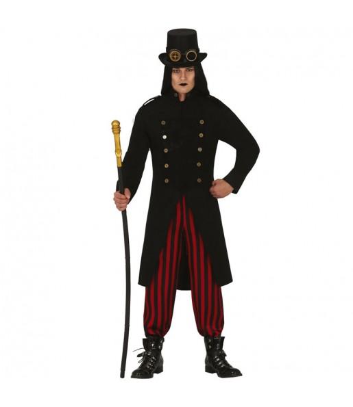 Fato de Vampiro Steampunk para homem