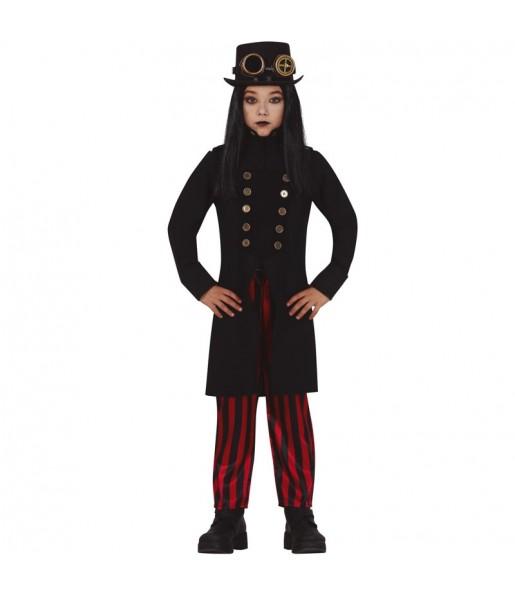 Fato de Vampiro Steampunk para menino