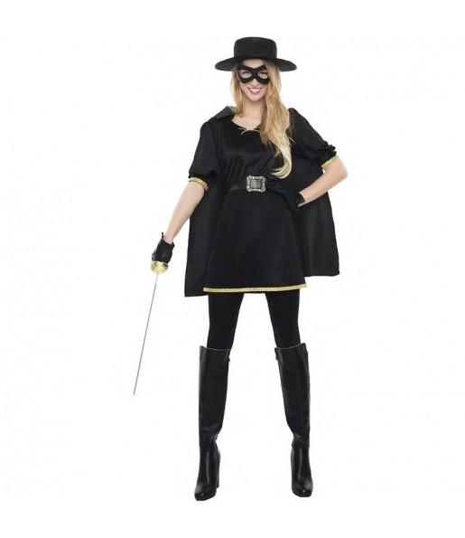 Fato de Zorro para mulher