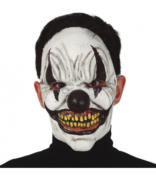 Máscara palhaço vilão