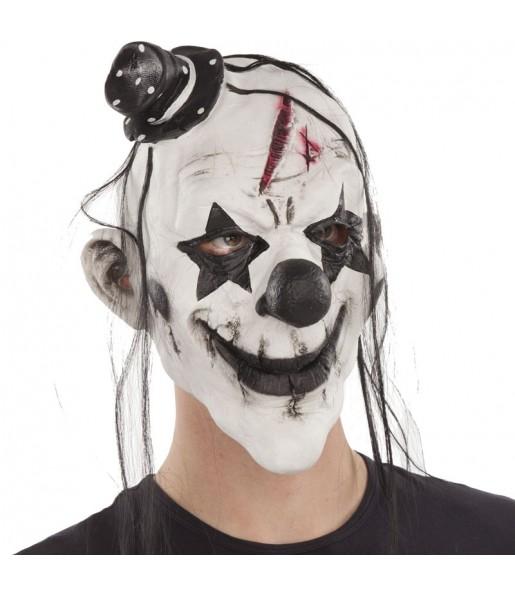 Máscara palhaço maníaco para completar o seu fato Halloween e Carnaval