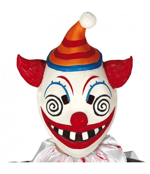 Máscara Palhaço Terror Fortnite para completar o seu fato Halloween e Carnaval