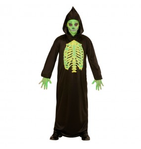 Disfarce Halloween Morte tóxica para meninos para uma festa do terror