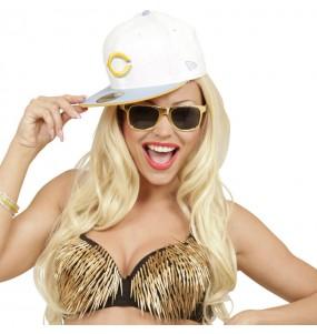 Os óculos mais engraçados ouro para festas de fantasia