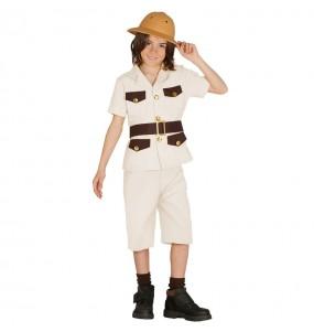 Disfarce Explorador Safari barato menino para deixar voar a sua imaginação