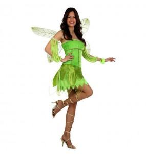 Disfarce original Fada verde mulher mulher ao melhor preço