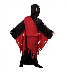 Disfarce Halloween Homem da Morte para meninos para uma festa do terror