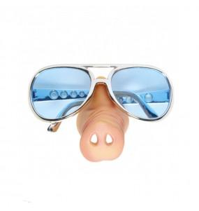 Os óculos mais engraçados nariz de porco para festas de fantasia
