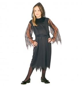 Disfarce Halloween Morte gótica meninas para uma festa Halloween