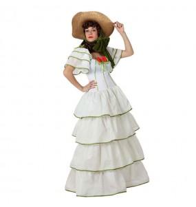 Disfarce original Senhora Sulista branca mulher ao melhor preço