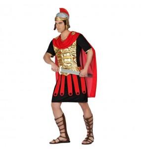 Disfarce Guerreiro Romano Dourado adulto divertidíssimo para qualquer ocasião