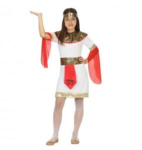 Disfarce Egípcia de Tutancâmon menina para que eles sejam com quem sempre sonharam