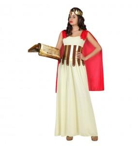 Disfarce original Deusa Grega capa vermelha mulher ao melhor preço