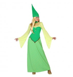 Disfarce original Duende Verde Irlandesa mulher ao melhor preço