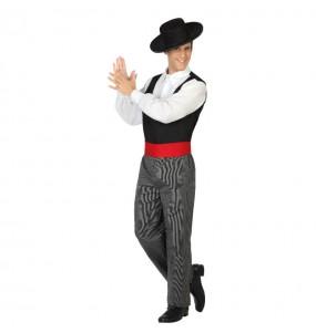 Disfarce Bailarino Cordovês adulto divertidíssimo para qualquer ocasião