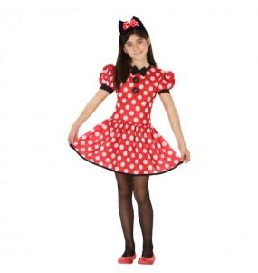 Disfarce Minnie menina para que eles sejam com quem sempre sonharam