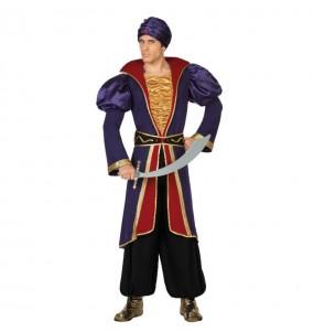 Disfarce Príncipe Árabe Jafar adulto divertidíssimo para qualquer ocasião