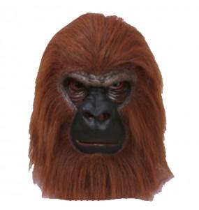 Máscara gorila para completar o seu fato Halloween e Carnaval