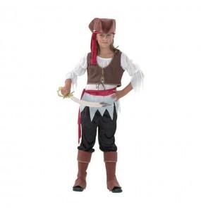 Disfarce Pirata bucaneira menina para que eles sejam com quem sempre sonharam