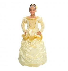 Disfarce Princesa Luxo menina para que eles sejam com quem sempre sonharam