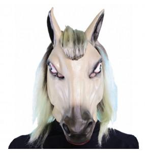 Máscara cavalo barata para completar o seu fato Halloween e Carnaval