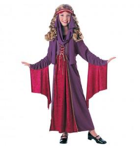 Disfarce Halloween Princesa gótica meninas para uma festa Halloween