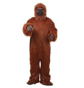 Disfarce Gorila Deluxe adulto divertidíssimo para qualquer ocasião