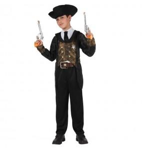 Disfarce Xerife menino para deixar voar a sua imaginação