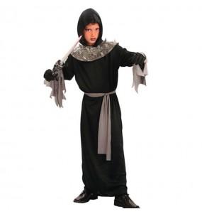 Disfarce Halloween Morte da escuridão para meninos para uma festa do terror