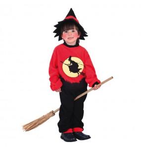 Disfarce Halloween Bruxo meninos para uma festa do terror