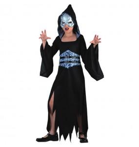Disfarce Halloween Morte halloween meninas para uma festa Halloween