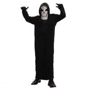 Disfarce Halloween Esqueleto dos mortos meninos para uma festa do terror
