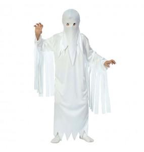 Disfarce Halloween Fantasma meninos para uma festa do terror