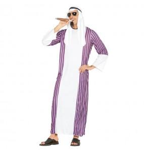Disfarce Xeque Árabe adulto divertidíssimo para qualquer ocasião