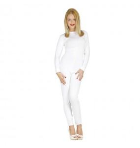 Disfarce original Maillot Branco mulher ao melhor preço