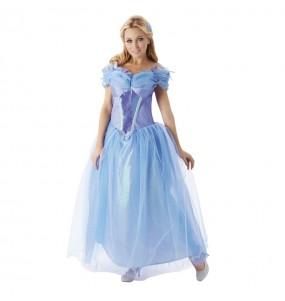 Disfarce original Cinderela - Disney® mulher ao melhor preço