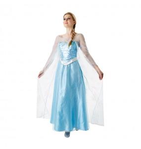 Disfarce original Elsa Frozen - Disney® mulher ao melhor preço
