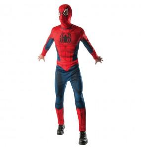 Disfarce Spiderman Ultimate - Marvel® adulto divertidíssimo para qualquer ocasião