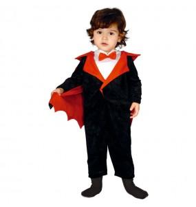Disfarce Halloween Vampiro Drácula com que o teu bebé ficará divertido