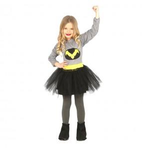 Disfarce Batwoman menina para que eles sejam com quem sempre sonharam
