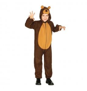 Disfarce Urso menino para deixar voar a sua imaginação