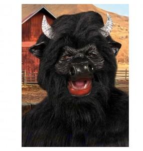 Máscara touro para completar o seu fato Halloween e Carnaval