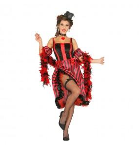 Disfarce original Bailarina Can Can mulher ao melhor preço