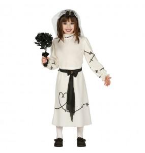 Disfarce Halloween Noiva cadáver meninas para uma festa Halloween