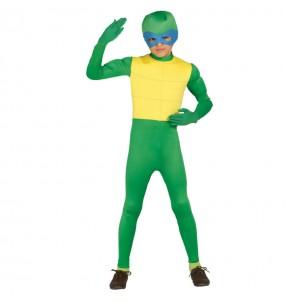 Disfarce Tartaruga ninja menino para deixar voar a sua imaginação