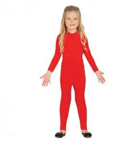 Disfarce Maillot vermelha spandex menino para deixar voar a sua imaginação