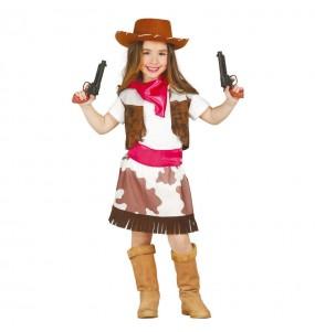 Disfarce Vaqueira Oeste menina para que eles sejam com quem sempre sonharam