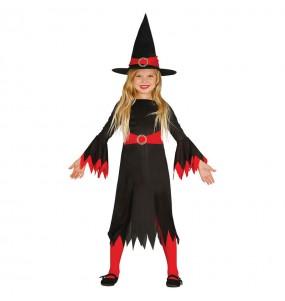 Disfarce Halloween Strega económica meninas para uma festa Halloween